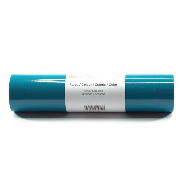 Film vinyle autoadhésif Brillant [21cm x 3m] – turquoise