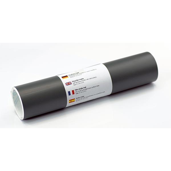 Film vinyle autoadhésif mat [21cm x 3m] – gris foncé