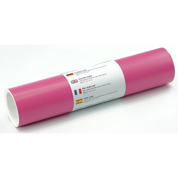 Selbstklebende Vinylfolie matt [21cm x 3m] – pink
