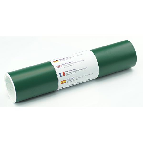 Film vinyle autoadhésif mat [21cm x 3m] – vert foncé