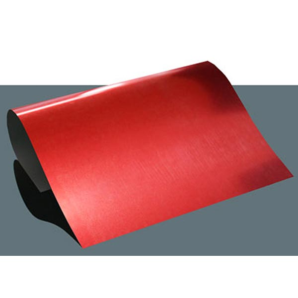 Film thermocollant Metallic Flex DIN A4 – rouge