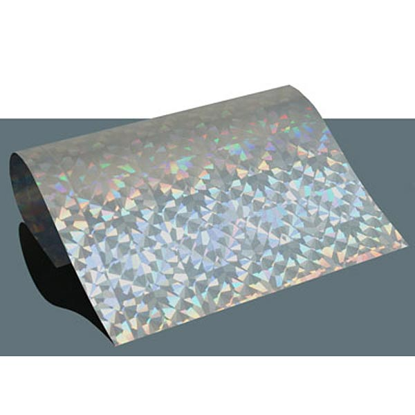Film thermocollant Hologramme diamant  DIN A4