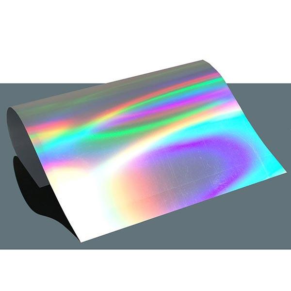 Film thermocollant Spectre holographique  DIN A4