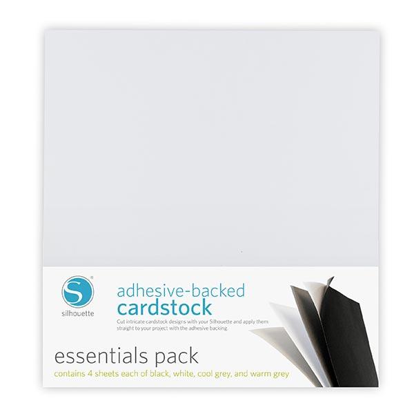 Silhouette  Cartes autoadhésives Essentials [30,48 x 30,48 cm|16 Pièces]