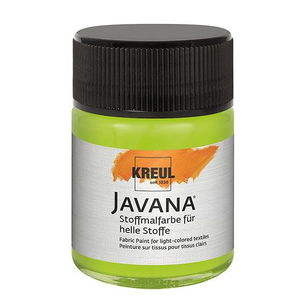 Javana Peinture pour tissus clairs [50ml] | Kreul – vert fluo