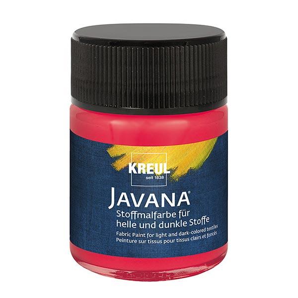Javana Peinture pour tissus clairs et sombres [50ml] | Kreul – framboise