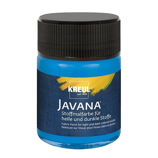 Javana Peinture pour tissus clairs et sombres [50ml] | Kreul – bleu