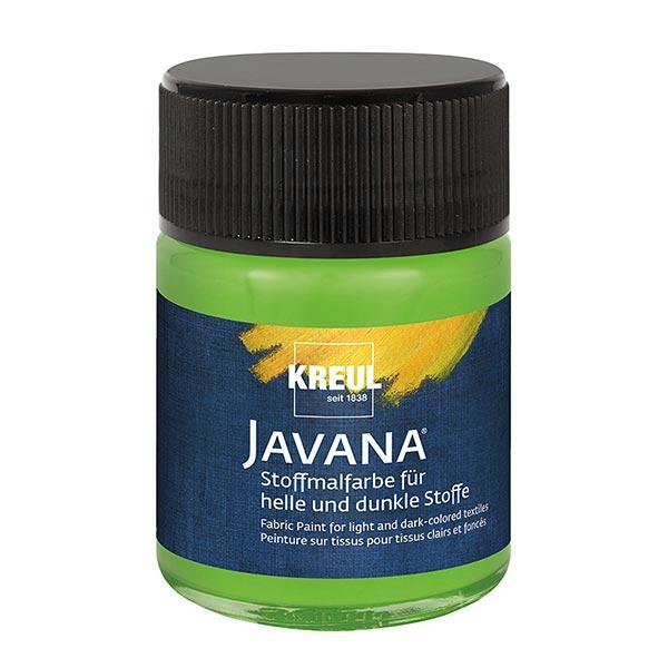 Javana Peinture pour tissus clairs et sombres [50ml] | Kreul – vert tendre