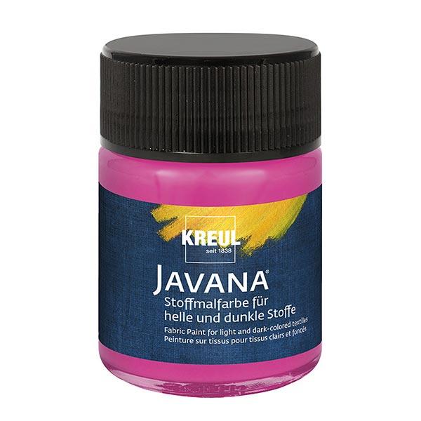 Javana Peinture pour tissus clairs et sombres [50ml] | Kreul – pourpre
