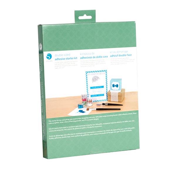 Kit de démarrage papier adhésif double face Silhouette