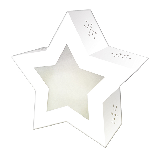 Twinkle Star Laternen-Rohling Blanko