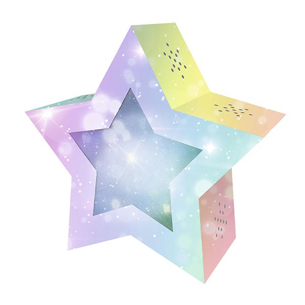 Twinkle Star Laternen-Rohling Feenstaub