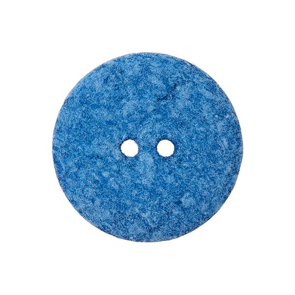 Bouton polyester 2 trous  – bleu bébé