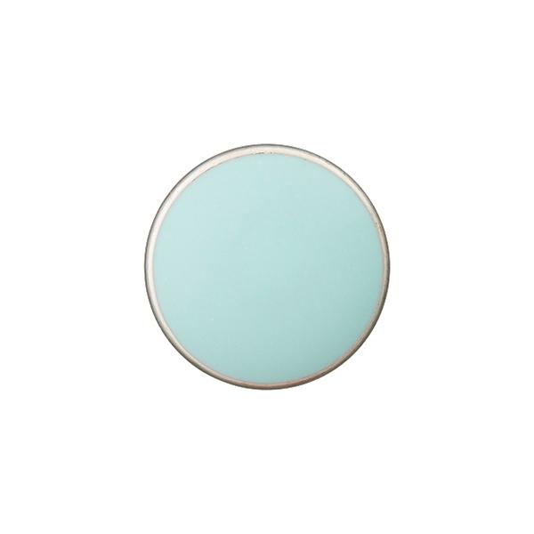 Bouton en métal Œillet  [Ø10 mm] – turquoise
