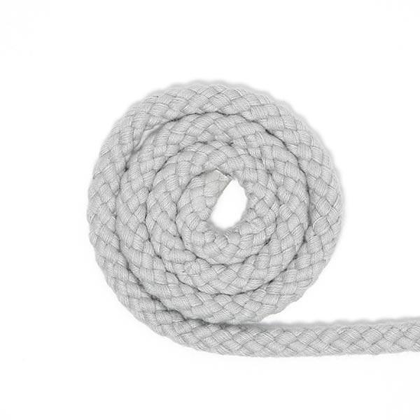 Baumwollkordel [Ø 7 mm] - grau