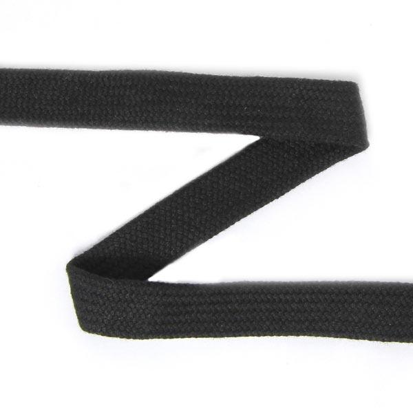 Hoodieband - Schlauchkordel [15 mm] - schwarz