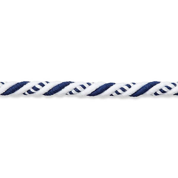 Cordon Maritime [8mm] – blanc/bleu