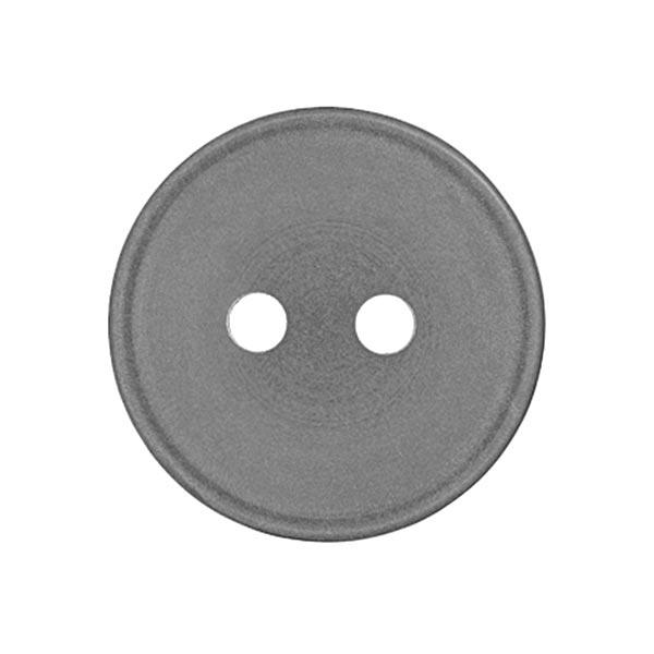 Bouton plastique Uni - gris