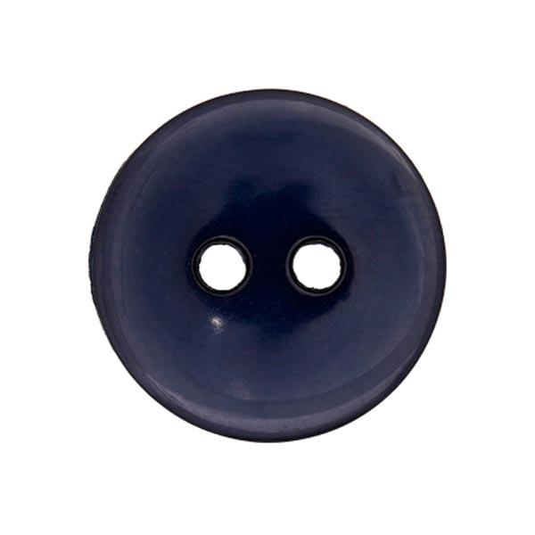 Bouton de chemisier Uni - bleu marine