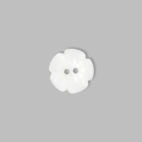 Bouton en plastique, Little flower 12
