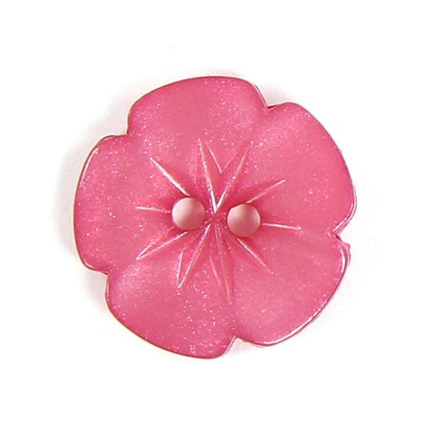 Bouton en plastique, Little flower 52