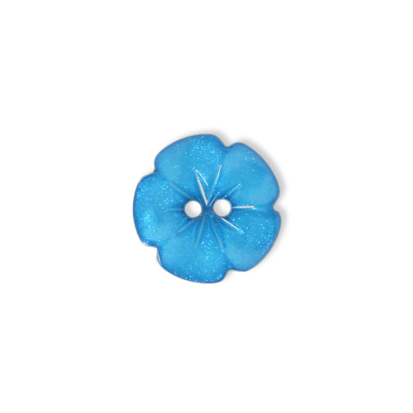 Bouton en plastique, Little flower 70