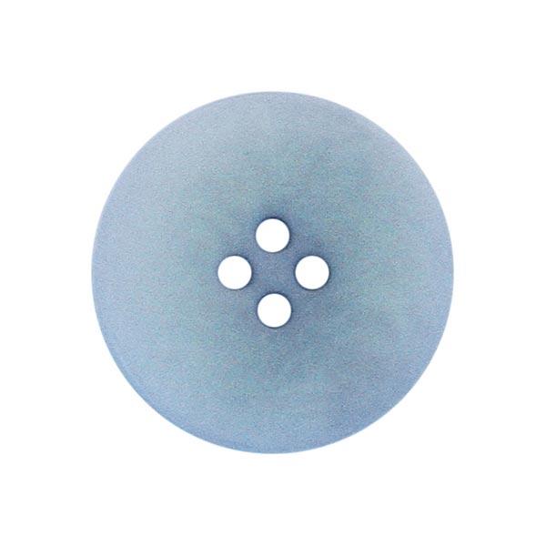 Bouton corozo Minimum - bleu aqua