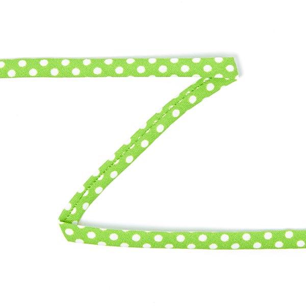 Bretelles spaghetti Pois 2 – vert