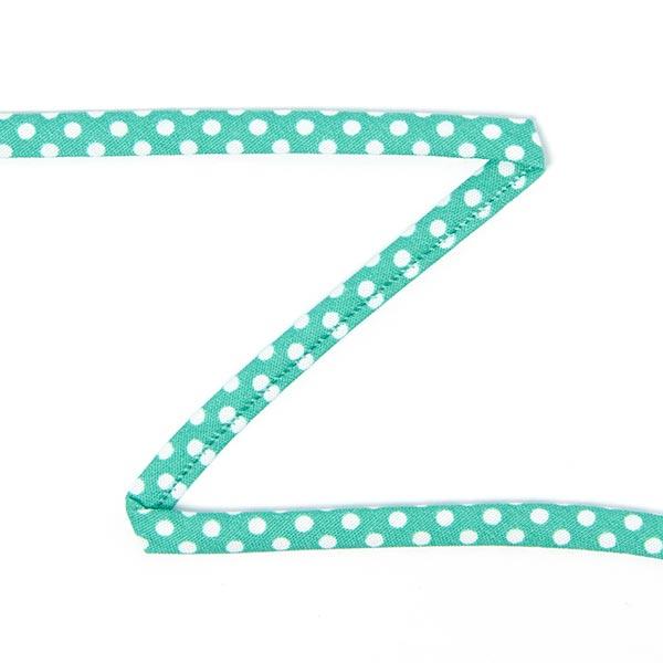 Bretelles spaghetti Pois 3 – vert menthe