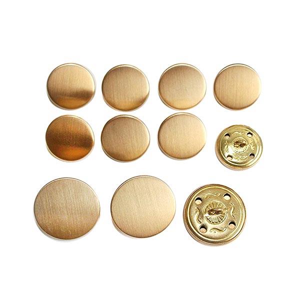 Anzug Knopf Set [ 11-teilig ] – gold