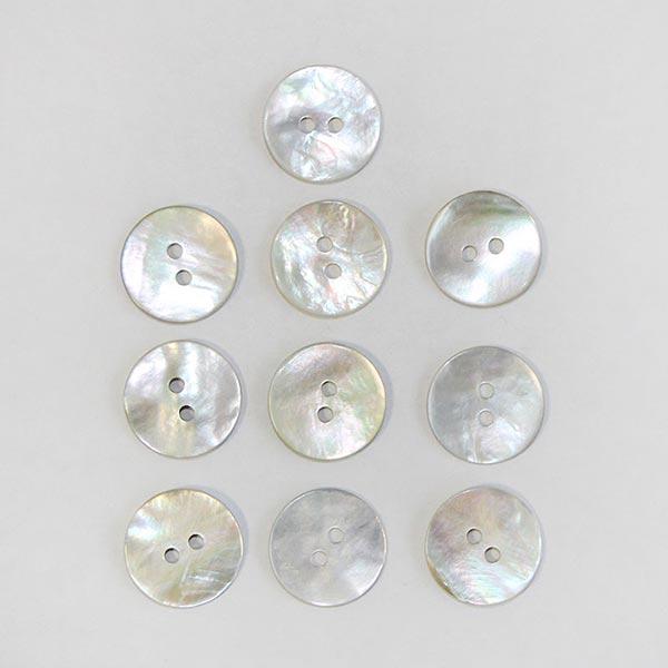Chemisiers Bouton Set [ 15 mm | 10-pièces ]