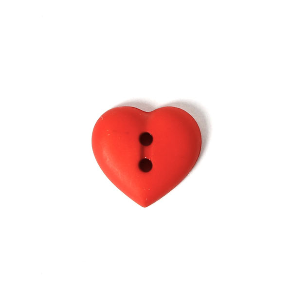 Bouton en plastique Little Heart 48