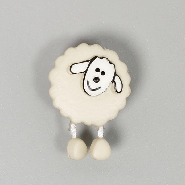 Bouton en plastique, Sheep 14