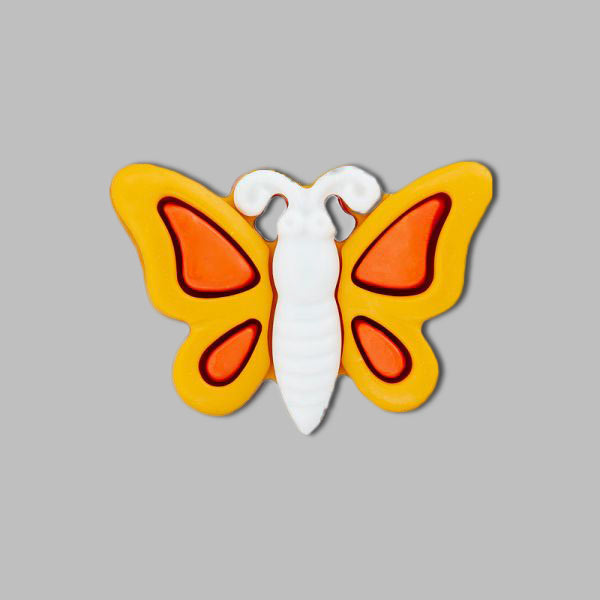 Bouton en plastique, Big Butterfly 1