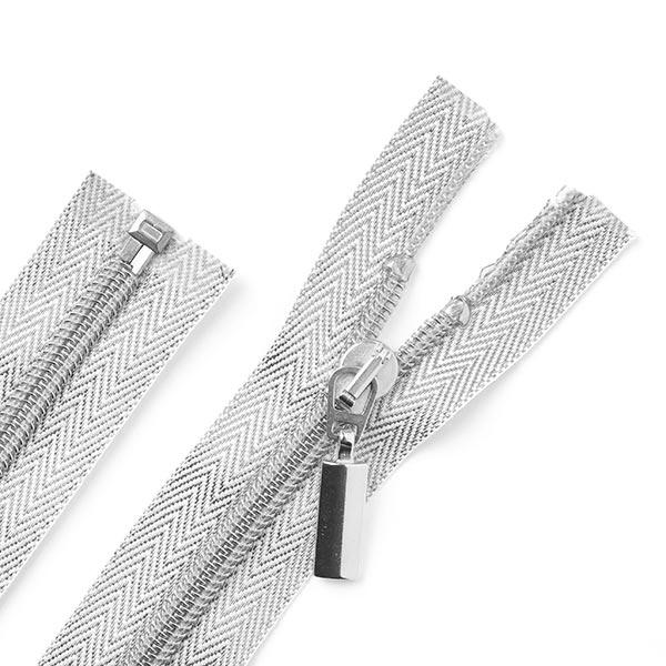 Reissverschluss Silver (teilbar) - silber