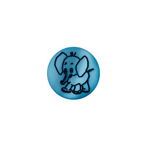 Bouton en plastique, Brilliant Elefant 66