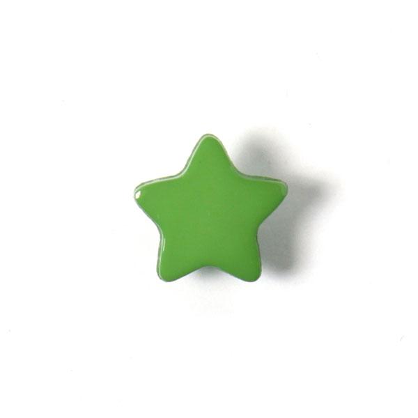 Bouton en plastique petites étoiles 2