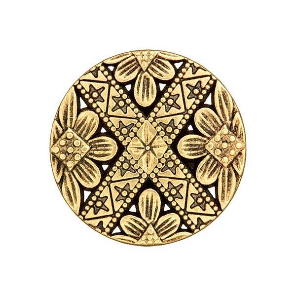 Bouton métal Folklorique 2 – or