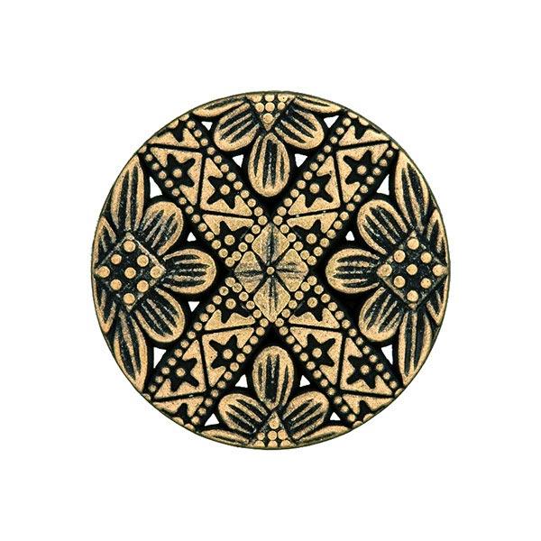 Bouton métal Folklorique 3 – or ancien