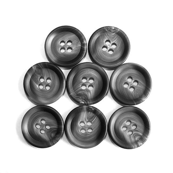 Manteau Bouton Set [ 8-pièces ] – gris