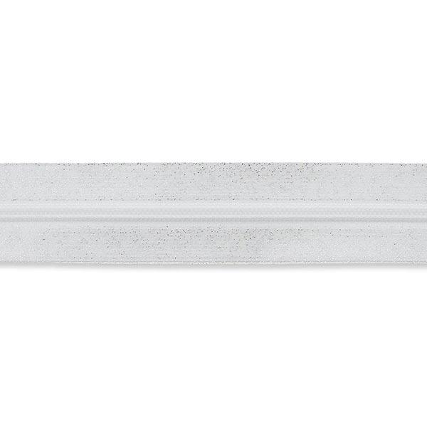 Endlosreißverschluss – weiss/silber