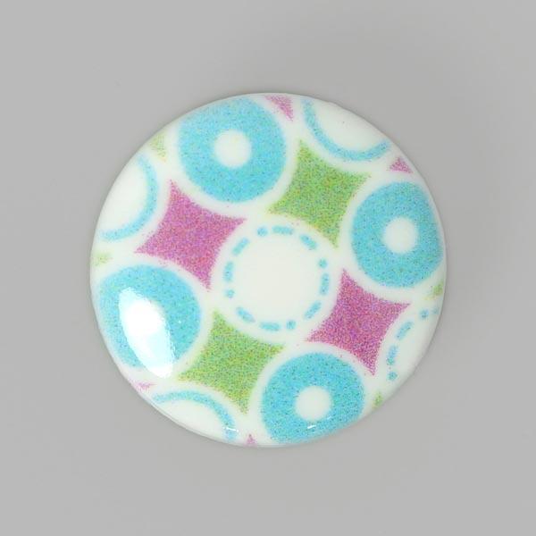 Bouton en plastique Parade de cercles 2, Tante Ema