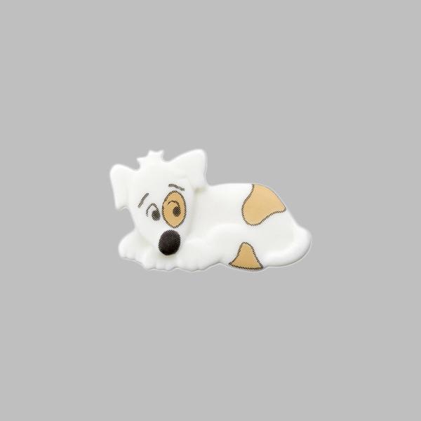 Bouton en plastique Beagle 1