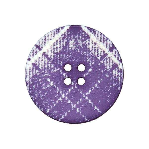Bouton de manteau Écossais – lilas