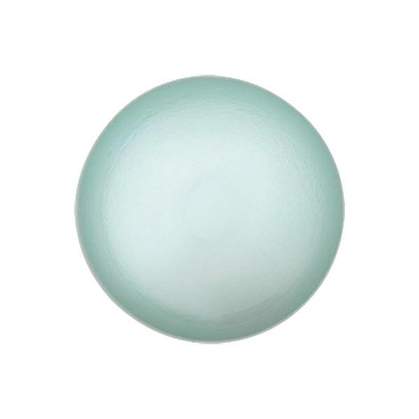 Bouton perle polyester Brillant - vert menthe
