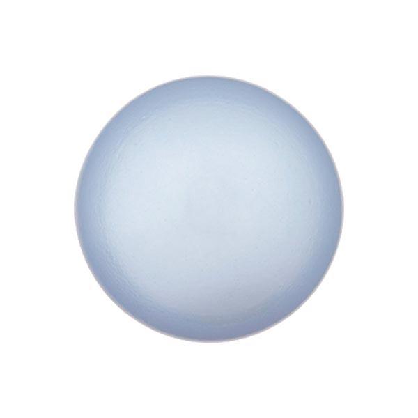 Bouton perle polyester Brillant - bleu pigeon