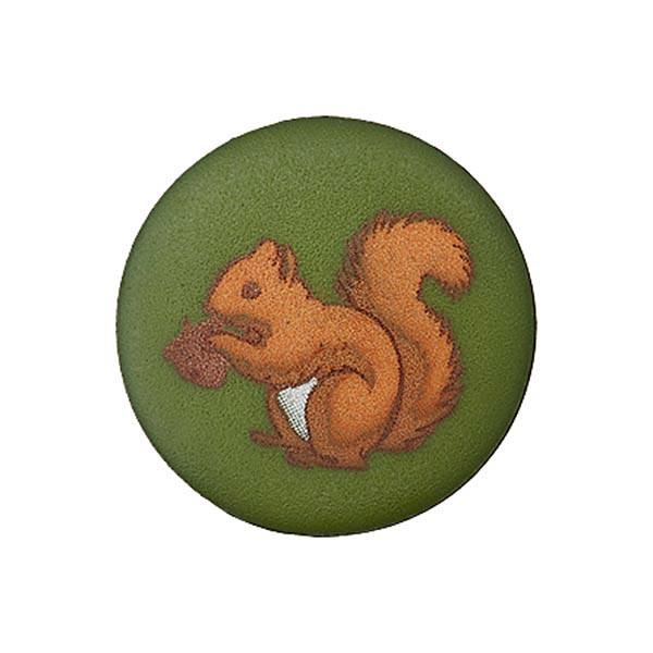 Bouton plastique écureuil