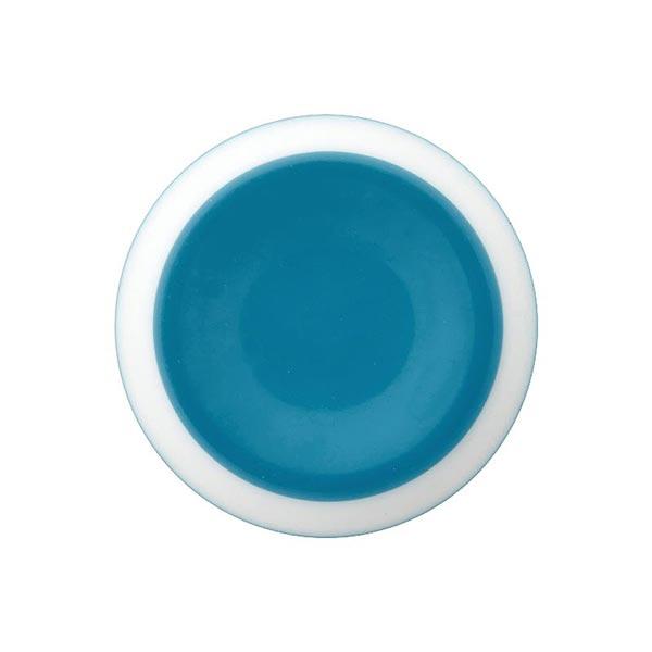 Bouton à queue polyester – bleu acier
