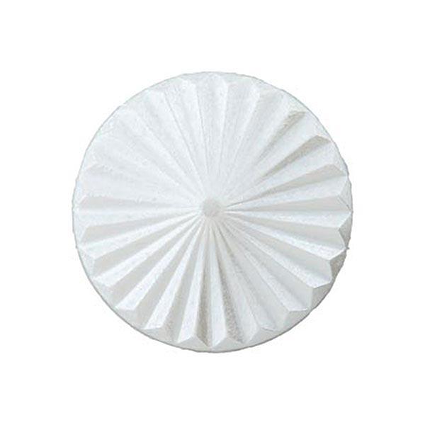 Bouton à queue – blanc