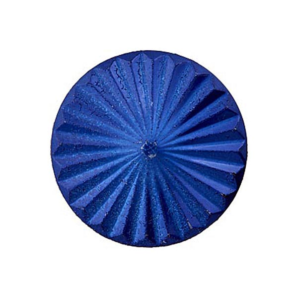 Bouton à queue – bleu roi